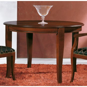 0283TA01 Dark Wood Table