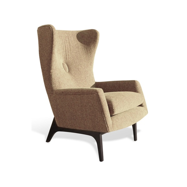 Elegant 50 50 Retro Wing Upholstered Chair