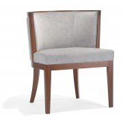 Adele PO Dark Wood Side Chair NL