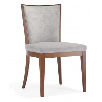 Adele SE Dark Wood Side Chair NL