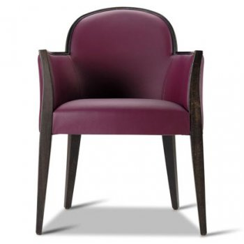 Agata Purple Armchair