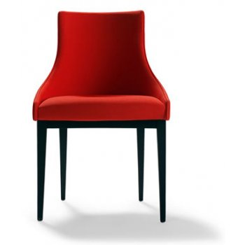 Alberto Crimson Side Chair