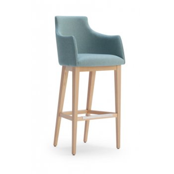 Albi High Back Barstool