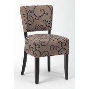 Alto Brown Design Side Chair