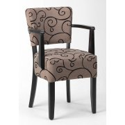 Alto Pattered Upholstered Armchair