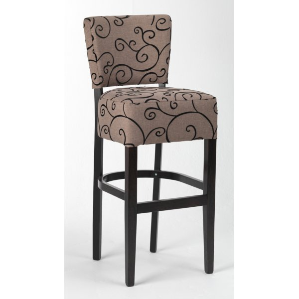 Fantastic Alto Patterned Upholstered Barstool From Ultimate Contract Uk Ibusinesslaw Wood Chair Design Ideas Ibusinesslaworg