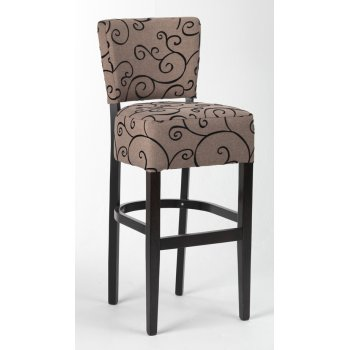 Alto Patterned Upholstered Barstool