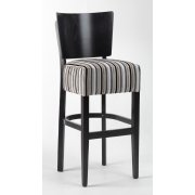Alto Striped Seat Upholstered Barstool