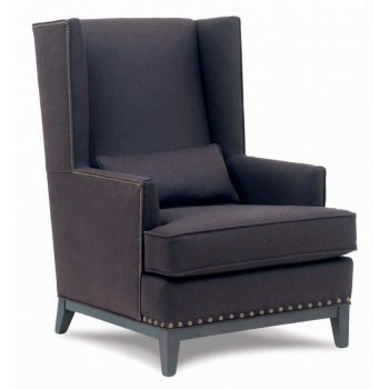 Anetto Dark Upholstered Chair