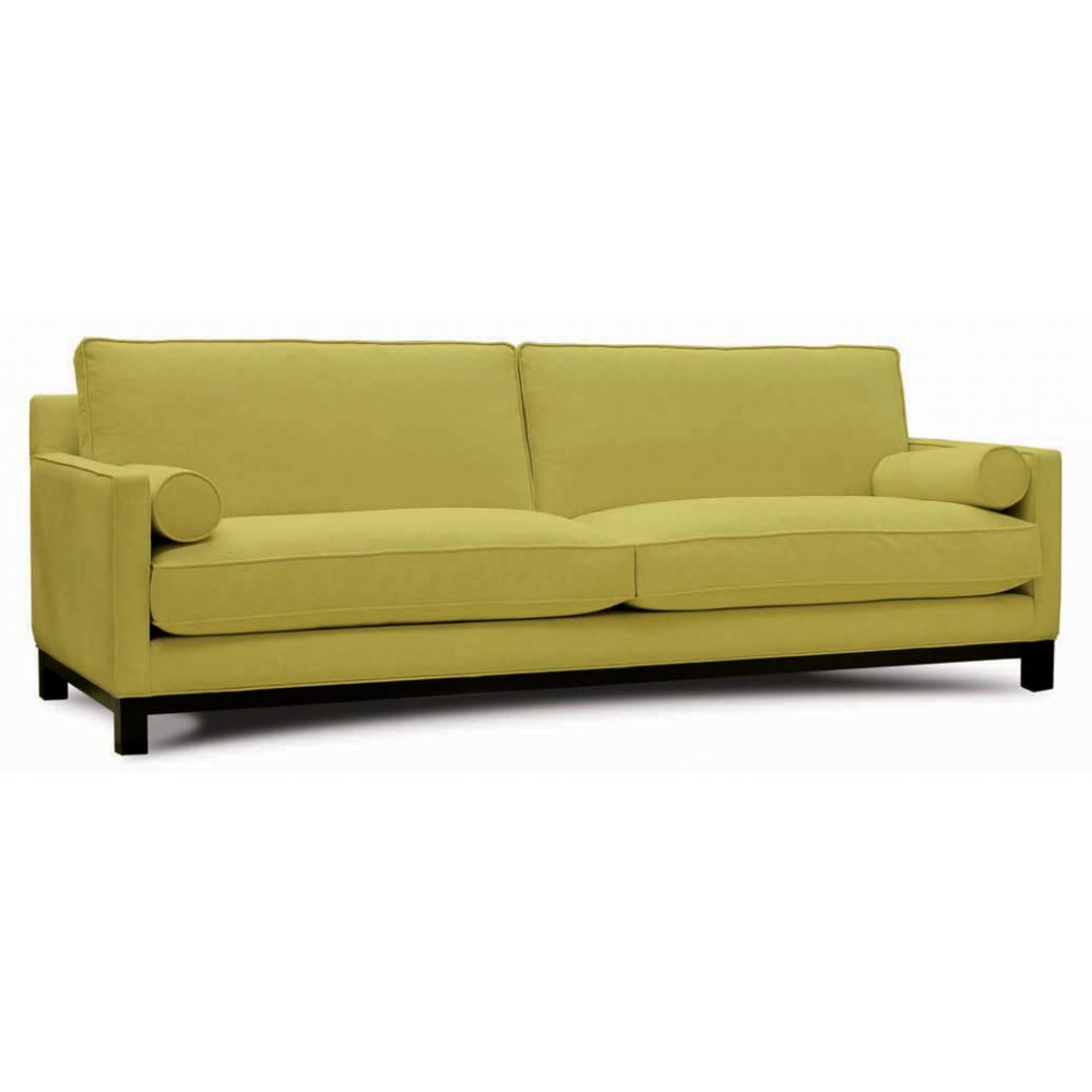 Arca light green upholstered sofa from ultimate contract uk for Light green sectional sofa