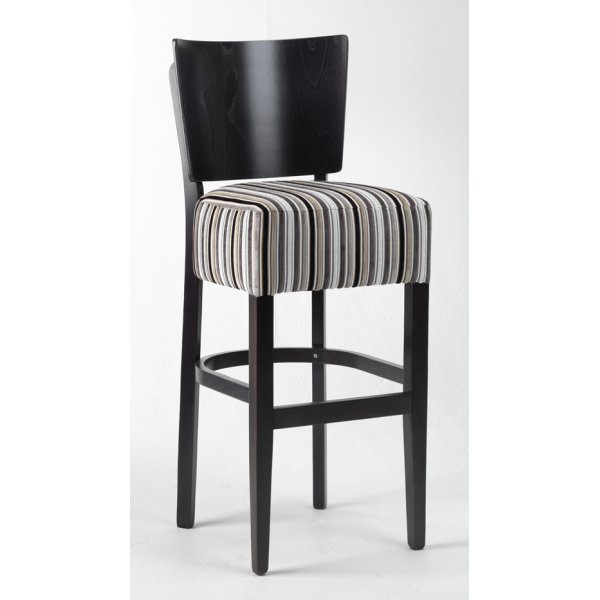arona striped seat barstool from ultimate contract uk. Black Bedroom Furniture Sets. Home Design Ideas