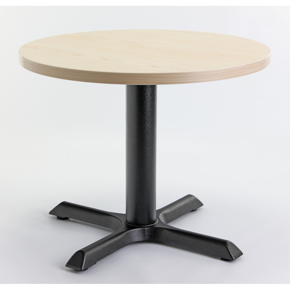 Ash top round coffee table from ultimate contract uk What to put on a round coffee table