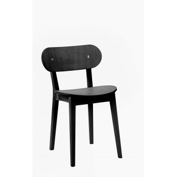 Barreha Side Chair Black GF