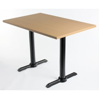 Beech Top Twin Table