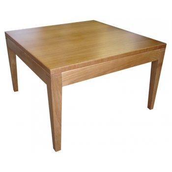 Beech Wood Coffee Table Wide