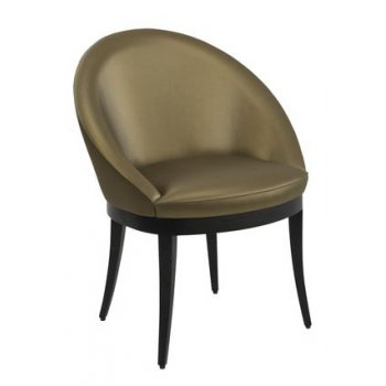 Bell Dark Upholstered Chair