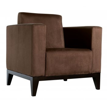 Best Value Collection Camelot Brown Upholstered Chair M88