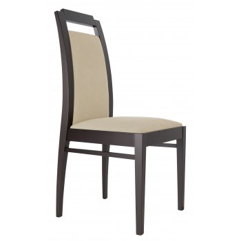 Best Value Collection Elika Cream and Dark Wood Side Chair