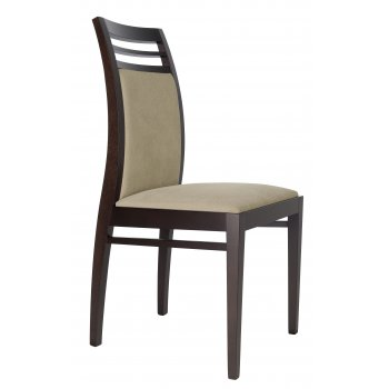 Best Value Collection Fiora Dark Wood Side Chair