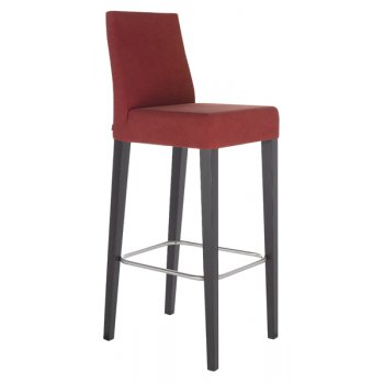 Best Value Collection Flox Crimson Upholstered Barstool M201F