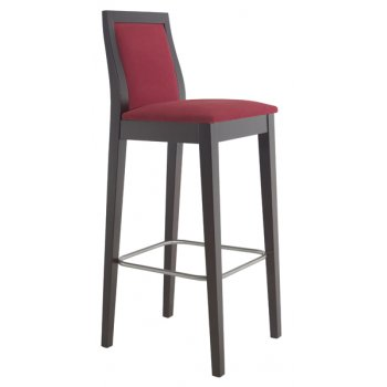 Best Value Collection Flox Crimson Upholstered Barstool M203
