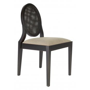 Best Value Collection Monalisa Cream Seat Side Chair