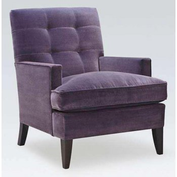 Bisset Purple Upholstered Chair