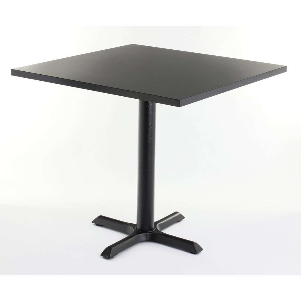 black top square dining table from ultimate contract uk