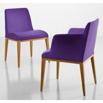 Bloom A Purple Upholstered Armchair CAM