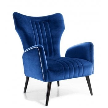 Blue Wing Lounge Chair ATE