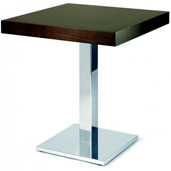 Box metal table base from ultimate contract uk Metal table base