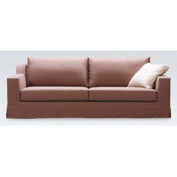 Bristol Brown Leather Sofa