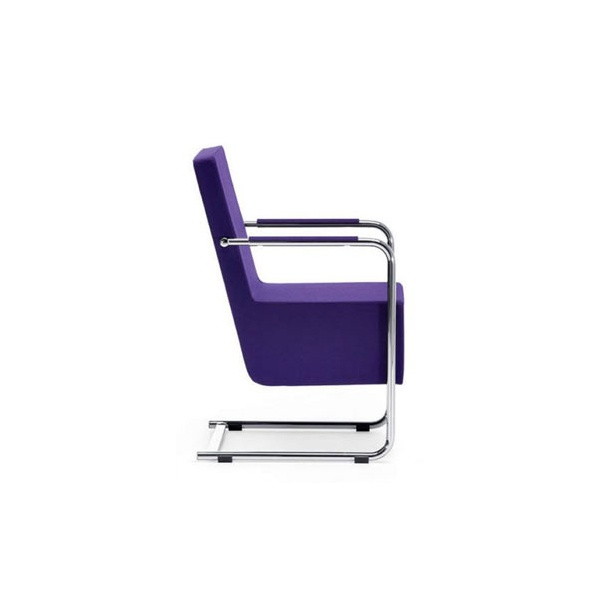 cantu purple upholstered armchair from ultimate contract uk. Black Bedroom Furniture Sets. Home Design Ideas