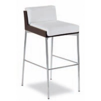 Charme White and Dark Wood Barstool 113.41