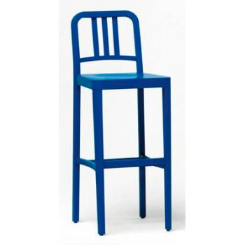 Co2 301 Blue Wood Barstool