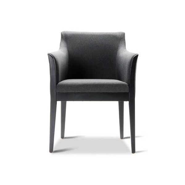 Cometa Black Armchair
