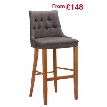 Cortona Barstool Deep Button GF