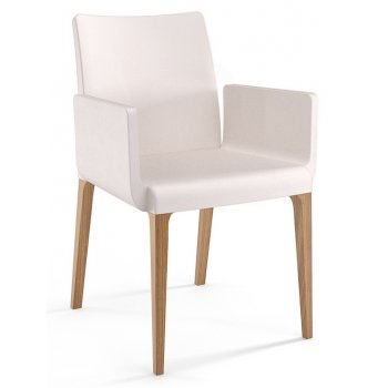 Cream Square Arm Armchair 1122/P