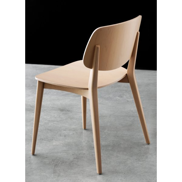 Delighful Wooden Chair Side View Doll Light Wood Throughout Ideas