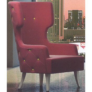 Donna Buttoned Back Armchair