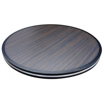 Ebony Macassar Table Top