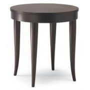 Ego Dark Wood Round Table