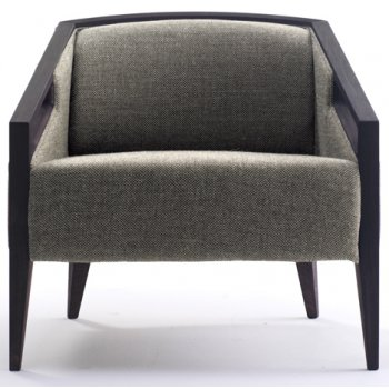 Elliot Dark Upholstered Chair