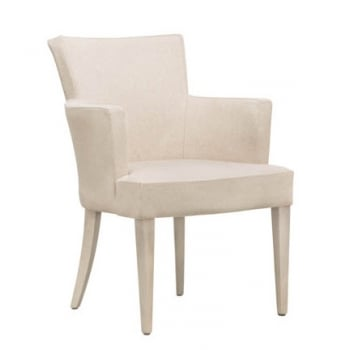Eva PO Dark Wood Arm Chair NL