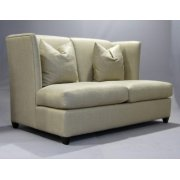 Fenton Cream Leather Sofa
