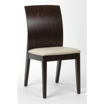Fortei Cream Curved Back Side Chair