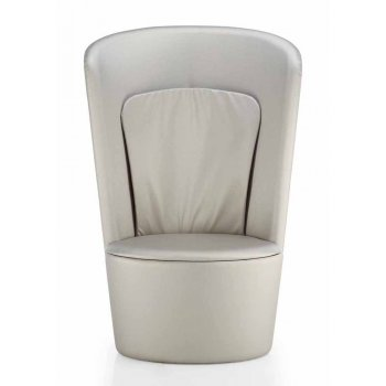 Gala Leather Upholstered Chair
