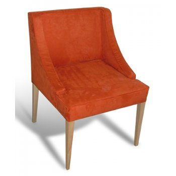 Gustav Orange Upholstered Chair