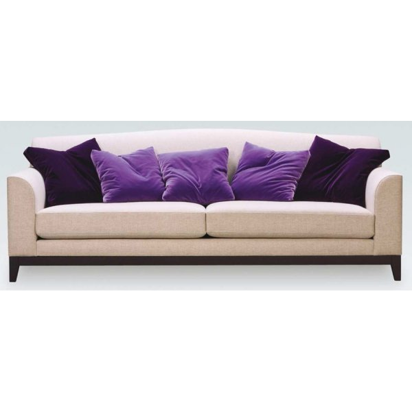 Hudson cream upholstered sofa from ultimate contract uk for Sofa hudson