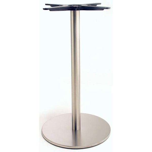 inox circular table base from ultimate contract uk. Black Bedroom Furniture Sets. Home Design Ideas